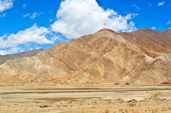Tibetan plateau scene-Plateau topography Royalty Free Stock Photography