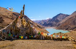 Tibetan plateau scene Stock Photos