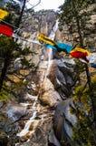 Tibetan plateau scene Royalty Free Stock Photo