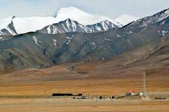 Tibetan plateau scene-Yuzhu Peak Royalty Free Stock Photography