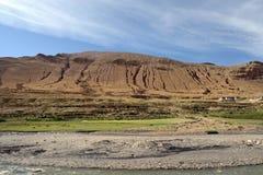 Tibetan plateau scenery Royalty Free Stock Photo