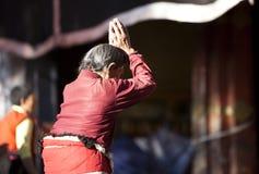 Tibetan prayer Royalty Free Stock Image