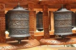 Tibetan prayer bells Royalty Free Stock Photography
