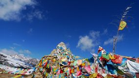 Tibetan Prayer Flags Royalty Free Stock Photo