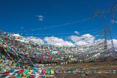 Tibetan prayer flags Stock Photography
