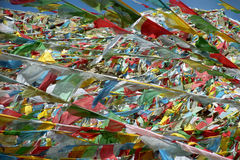 Tibetan prayer flags. Stock Photography