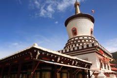 Tibetan Prayer Tower Stock Photo