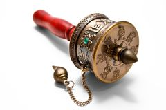 Tibetan of prayer wheel Stock Photography