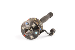Tibetan prayer wheel with gems Royalty Free Stock Images