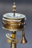 Tibetan prayer wheel Stock Image
