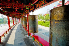 Tibetan prayer wheels Royalty Free Stock Photos