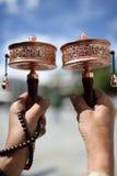 Tibetan Prayer Wheels Stock Photos
