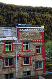 Tibetan residence and building Royalty Free Stock Images