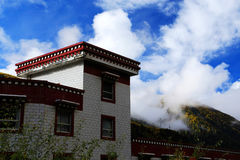 Tibetan residence and building Royalty Free Stock Photography