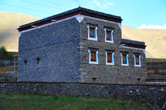 Tibetan residence and building Stock Images