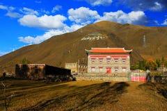 Tibetan residence and building Stock Image