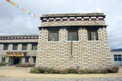 Tibetan residence Stock Images