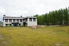 Tibetan residence Royalty Free Stock Photo