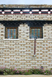 Tibetan residence Stock Photography