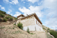 Tibetan residential house Stock Images