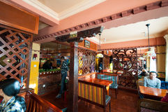 Tibetan residential interior Royalty Free Stock Images