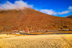 Tibetan residential Royalty Free Stock Image