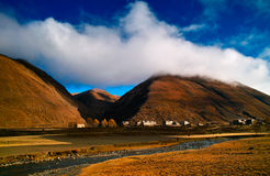 Tibetan residential Stock Photography