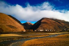 Tibetan residential Stock Images