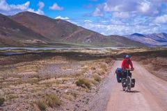 On tibetan road Stock Photos