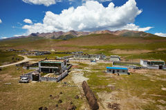Tibetan rural village Royalty Free Stock Photos