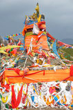 Tibetan's prayer flags(Jingfan) Stock Photography