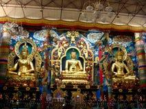 Tibetan saint shrines Royalty Free Stock Photos
