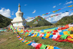 Tibetan scenery Royalty Free Stock Photography