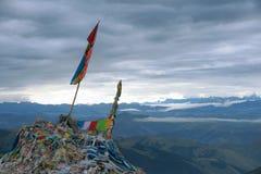 Tibetan scenery Stock Photos