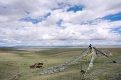 Tibetan scenery stock photo