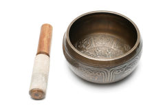 Tibetan singing bowl Royalty Free Stock Photography