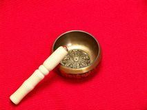 Tibetan Singing bowl Royalty Free Stock Images