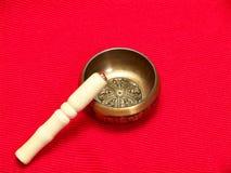 Tibetan singing bowl Stock Photography