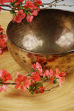 Tibetan singing bowl Royalty Free Stock Image