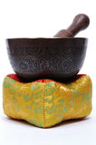 Tibetan Singing Bowl Royalty Free Stock Photo