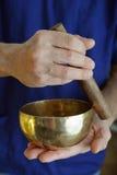 Tibetan Singing Bowl Royalty Free Stock Images