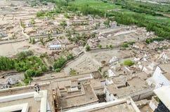 These Tibetan slums. In the Nepal Mountan Stock Photos
