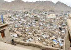 These Tibetan slums. In the Nepal Mountan Stock Image