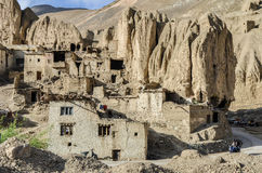 These Tibetan slums. In the Tibet mountains Stock Images