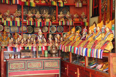 Tibetan souvenirs Royalty Free Stock Images