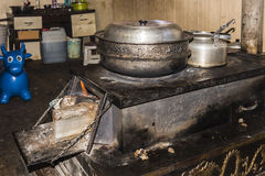 Tibetan stove Royalty Free Stock Images