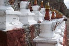 Tibetan stupa Royalty Free Stock Image