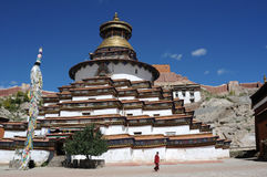 Tibetan stupa Royalty Free Stock Photography