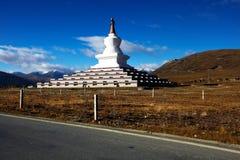 Tibetan Stupa Stock Photo