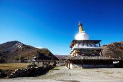 Tibetan Stupa Royalty Free Stock Photography